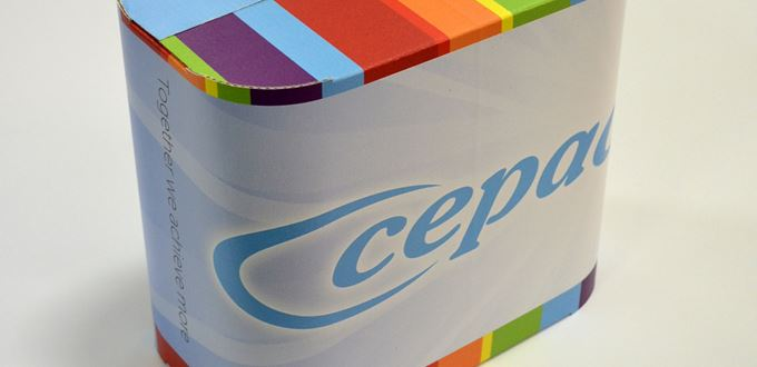 First automation of Arcwise curved corrugated packaging unveiled by Cepac and Adpak